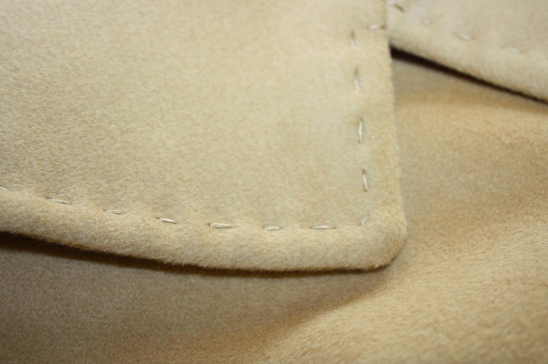 Mantel aus Cashmere Stoff
