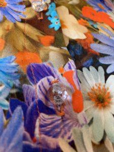 Der Herbst Stoffe in ihrer Farbvielfalt-Herbstlicher Seidenstoff