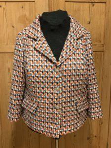 Jacke Tweed in Herbstfarben -Farbvielfalt
